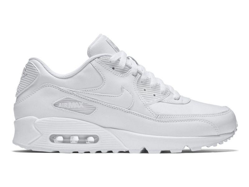 Buty Męskie Nike Air Max 90 Leather Białe r. 41