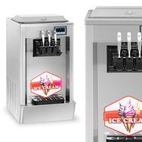 Maszyna do lodów włoskich - 20 l/h - 3 smaki Royal Catering RCSI-20-3