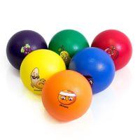Piłki piankowe Owoce UA971-6C 6 sztuk