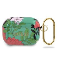 Etui Guess GUACAPTPUBKFL01 Apple AirPods Pro cover zielony/green N.1 Flower Collection