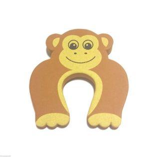 Stoper zwierzak - blokada klin do drzwi Wzór - Małpka