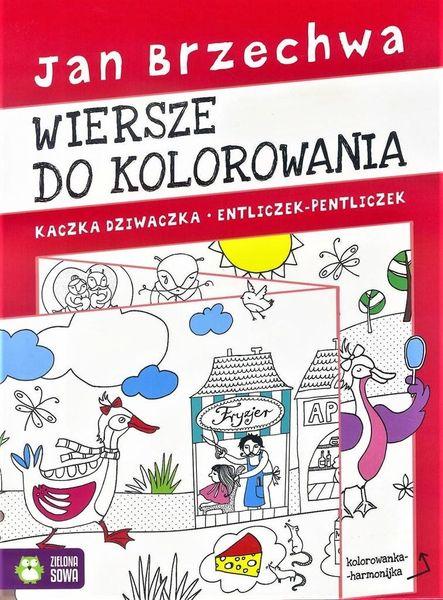 Kolorowanka Harmonijka Jan Brzechwa