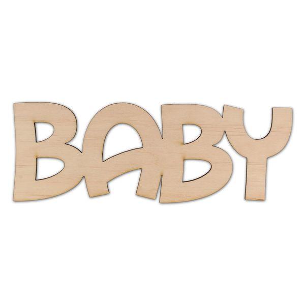 ND452 Dziecięcy napis baby zdjęcie 1