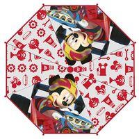 Parasol manualny Mickey Mouse Licencja Disney (WD12249 Red)