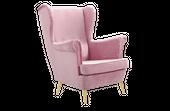 Fotel tapicerowany USZAK skandynawski pikowany SZYBKA DOSTAWA kolory zdjęcie 7