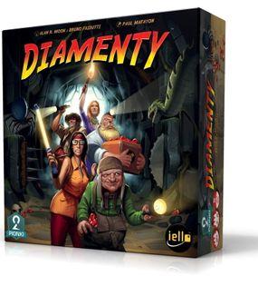 DIAMENTY  GRA PLANSZOWA PORTAL GAMES