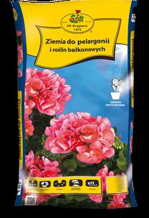 Ziemia Do Pelargonii I Roślin Balkonowych 50 L KIK