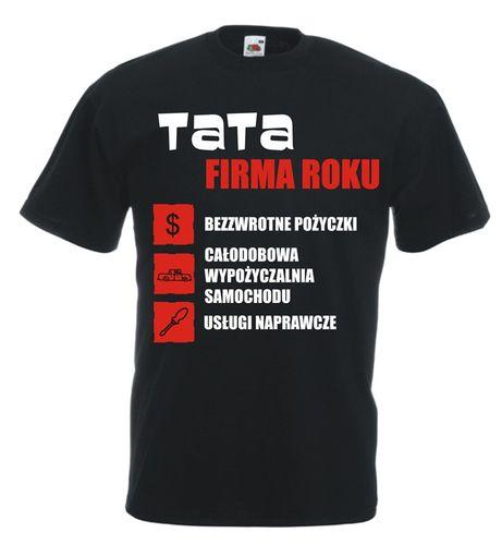 Koszulka męska TATA FIRMA ROKU XL na Arena.pl