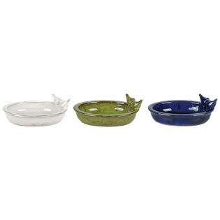 Duże ceramiczne poidełko dla ptaków