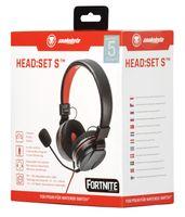 Snakebyte Zestaw słuchawkowy z mikrofonem Nintendo Switch HEAD:SET S