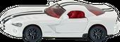 SIKU Dodge Viper AUTO sportowe