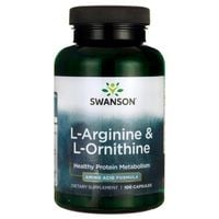 Swanson L-Arginina I L-Ornityna 100 K