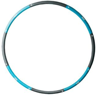 Koło hula hop hoop z obciążeniem PRCTZ 100cm 1,2 kg niebieskie