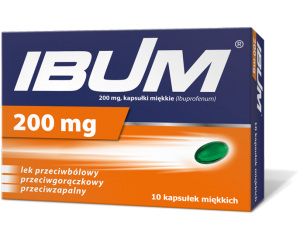IBUM 200 MG 10 KAPS. na Arena.pl