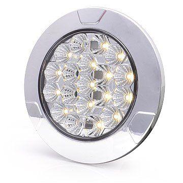 Lampa LED oświetlenia wnętrza okrągła 12V-24V 991 na Arena.pl