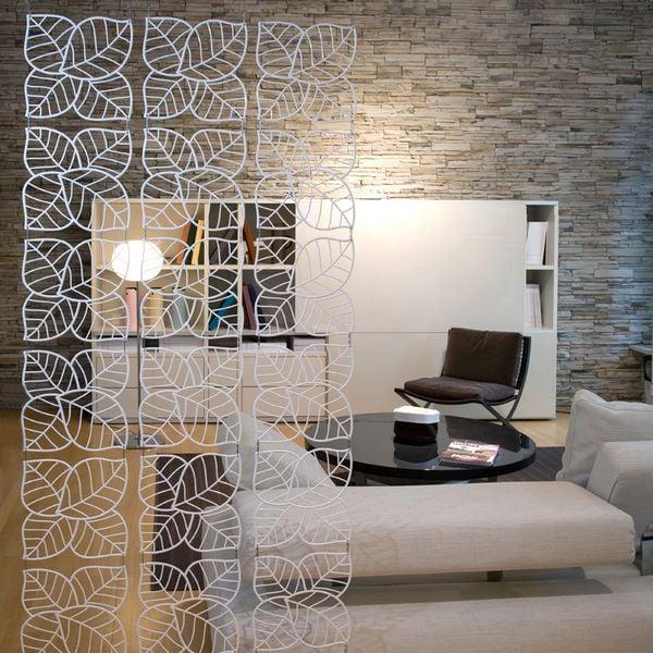 Panele Dekoracyjne Ozdobne Na ścianę Białe 4 Szt