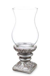 Świecznik lampion ceramiczny H: 38 cm