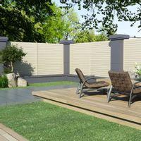 Panele ogrodzeniowe, 2 szt., 3,4 x 1,7 m
