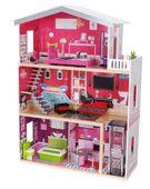 Domek dla lalek – drewniany: Rezydencja Malibu