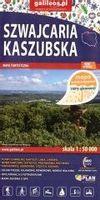 Mapa turystyczna - Szwajcaria Kaszubska