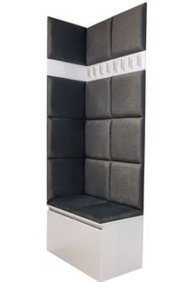 ZESTAW MEBLI 2P12 do przedpokoju szafka na buty siedzisko panele