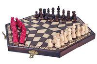 Szachy dla trójki graczy - małe - nie tylko dla dzieci