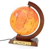 Globus PODŚWIETLANY PREZENT na urodziny GRAWER