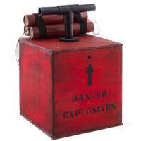 DEKORACJA DYNAMIT i detonator z dzwiękiem WESTERN
