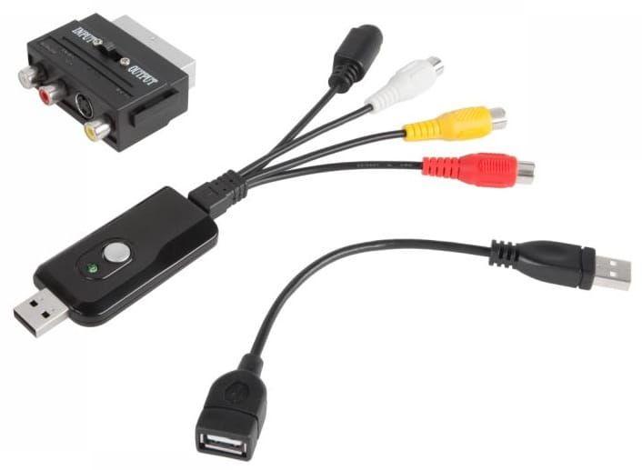 Video-Grabber USB przechwytywanie video Cabletech URZ0192 zdjęcie 2