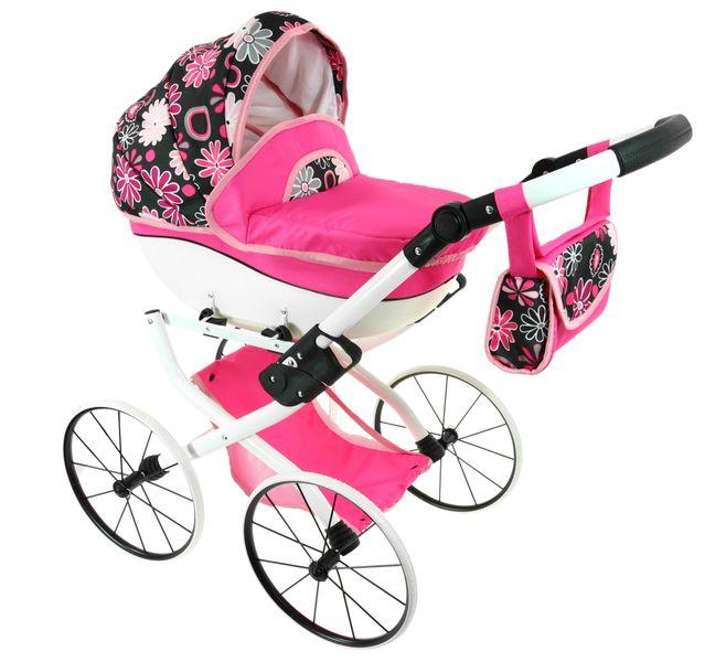 DUŻY Solidny POLSKI Wózek dla lalek lalkowy RETRO Jakość ! zdjęcie 3