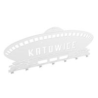 Metalowy wieszak ścienny na ubrania i klucze loft Śląsk KATOWICE SPODE