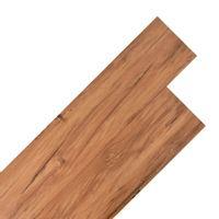 Panele Podłogowe Z Pvc, 5,26 M², 2 Mm, Naturalny Wiąz