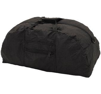 Duża wodoodporna torba składana czarna