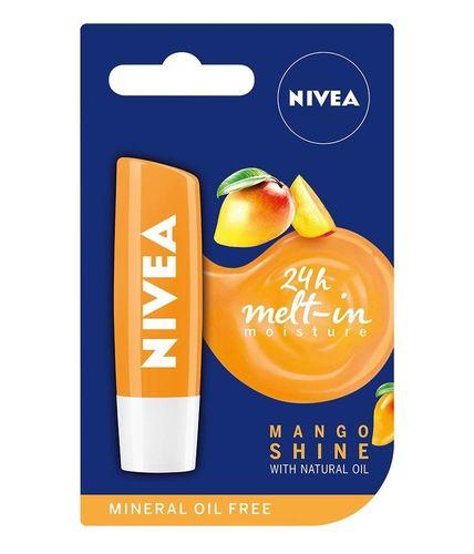 Nivea Mango Shine Pielęgnacyjna Pomadka do Ust 5,5ml - Mango Shine na Arena.pl