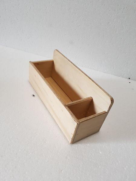 Pudełko do kart trójdzielnych 14x14 Montessori FAKTURA na Arena.pl