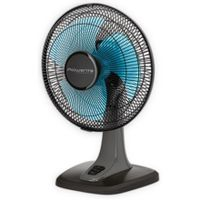 Rowenta Vu2110F0 Table Fan, Number Of Speeds 3, 28 W, Oscillation, Diameter 25 Cm, Black