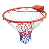 Obręcz do gry w koszykówkę wraz z siatką