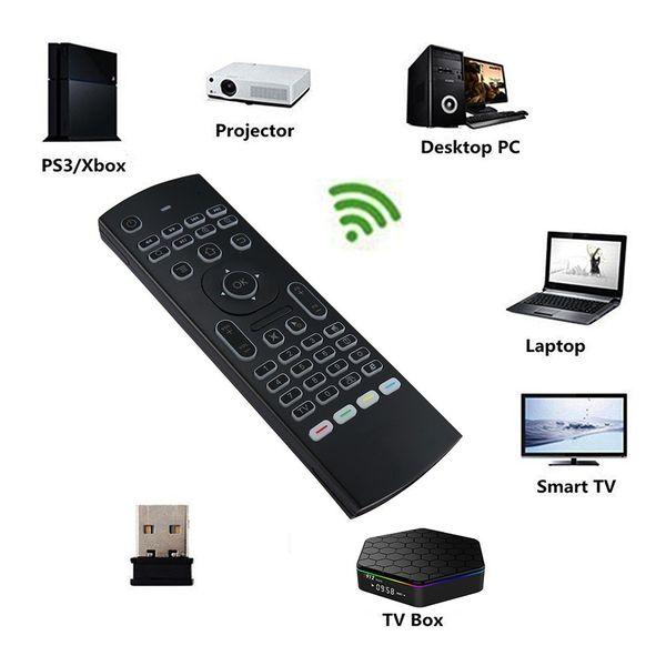 Pilot mx3 mysz powietrzna z podświetleniem do smart tv z mikrofonem 4w1 zdjęcie 6