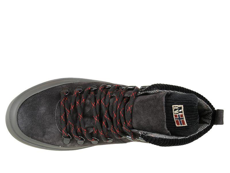 Sneakersy Napapijri Mid Grey Castelrock NA4DZF-H90 - 41 zdjęcie 3
