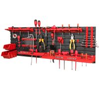 Tablica ścianka narzędziowa do garażu + 2 kuwety PRO-MIX15