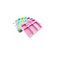 Tacki jednorazowe Stomatologiczne Kolorowe 100 sztuk