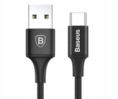 BASEUS KABEL USB-C TYP C QUICK CHARGE 3.0 LED 2M zdjęcie 2