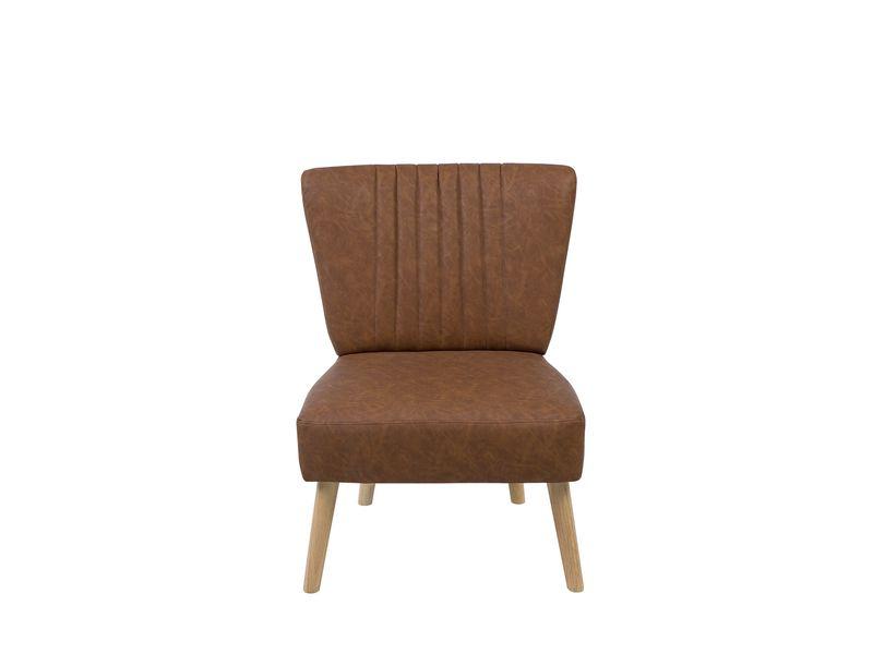 Fotel Krzesło Siedzenie Skórzane Do Salonu Ekskluzywne