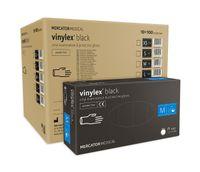 Rękawice winylowe vinylex black rozmiar M karton 10 x 100 szt