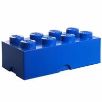 LEGO - Pojemnik do przechowywania klocków 8 niebieski 40041731