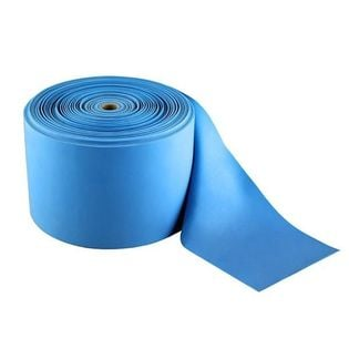 Guma treningowa w rolce niebieska PVC 50 m x 150 mm x 0,8 mm ABI
