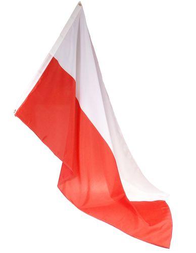 FLAGA POLSKI NARODOWA BIAŁO-CZERWONA 90x150 CM 182 na Arena.pl