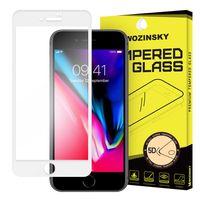Wozinsky Pro+ Super Wytrzymałe Szkło Hartowane 5D Full Glue Na Cały Ekran Z Ramką Iphone 8 Plus / 7 Plus Biały