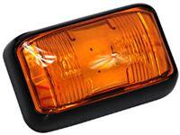 Lampa 2 LED super FLUX obrysowa boczna 12v 24v pomarańczowa