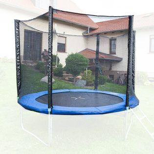 12569 Siatka ochronna do trampoliny 400 cm 6 słupków wytrzymała